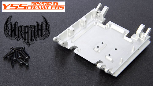 YSS Full Alum Skid Plate for Axial Wraith FS