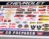 YSS Chevrolet Sticker Set!