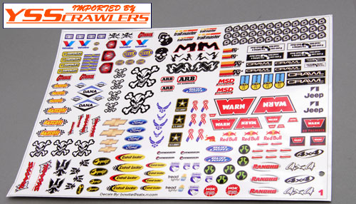 YSS #1 Ultimate Crawler Sticker Set!