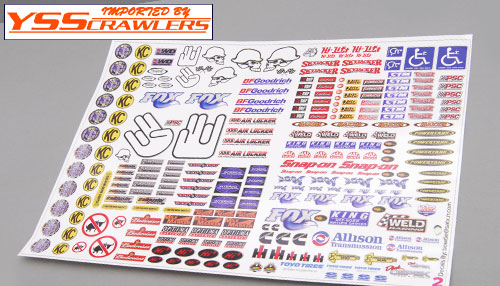 YSS #2 Ultimate Crawler Sticker Set!