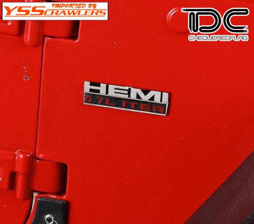 YSS TDC Hemi 5.7L V8 エンジン エンブレム![メタル]