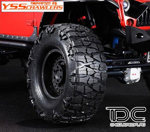 YSS TDC ドラゴンクロー 1.9インチ クローラータイヤ![2本]