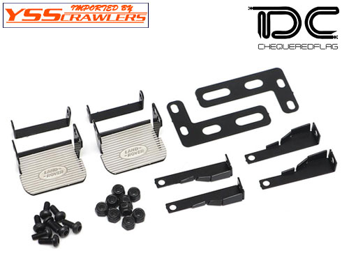 YSS TDC メタル サイド ペダル for Traxxas TRX-4![D110]