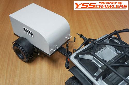 YSS Xtra HD シールド オフロード トレーラー![タイヤ付き]