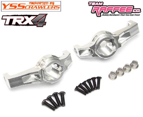 YSS ラフィー アルミフロントCハブ for Traxxas TRX-4![シルバー]