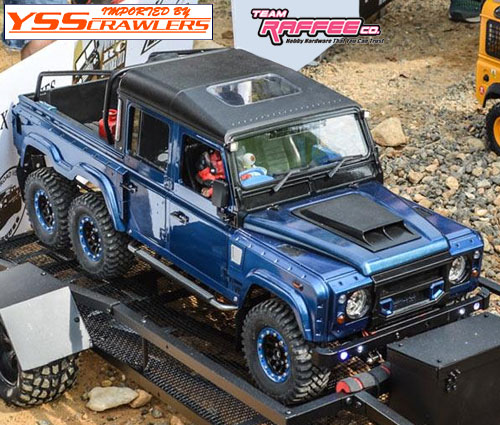Defender 6x6 Pickup Truck Hard Body Kit
