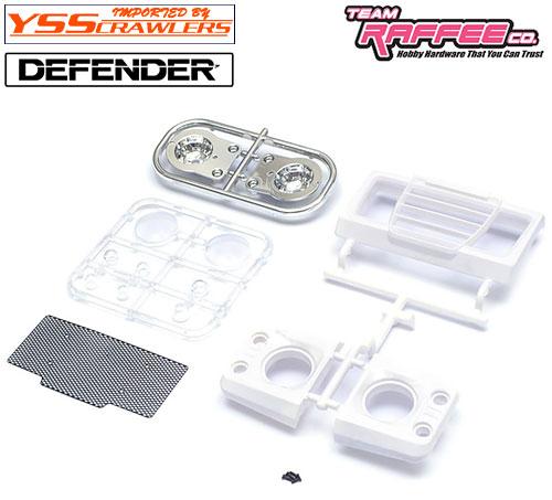 YSS TRC ストレッチ フロントグリル ライト セット for TRC ディフェンダー D90 D110 ボディー!