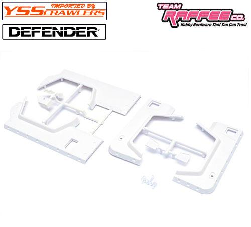 YSS TRC オーバーフェンダーキット[角型] for TRC ディフェンダー D90 D110 ボディー!