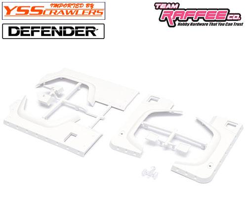 YSS TRC オーバーフェンダーキット[ラウンド型] for TRC ディフェンダー D90 D110 ボディー!