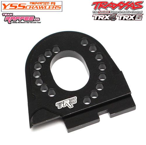 YSS TRC - アルミモータープレート for TRX-4![全車種対応][ブラック]