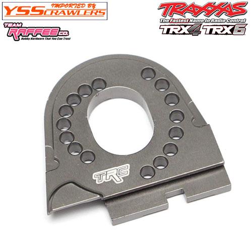 YSS TRC - アルミモータープレート for TRX-4![全車種対応][ガンメタ]