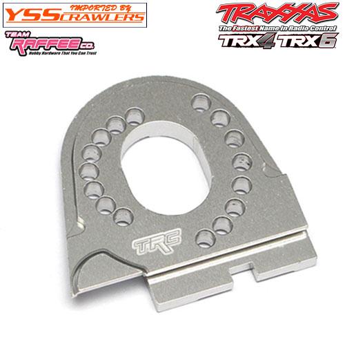 YSS TRC - アルミモータープレート for TRX-4![全車種対応][シルバー]
