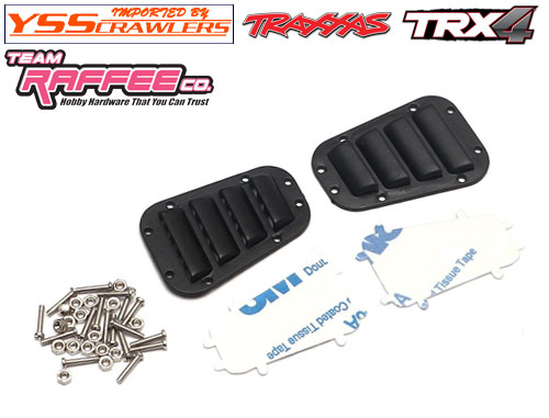 YSS TRC ボンネットベント for Traxxas ディフェンダー D110!