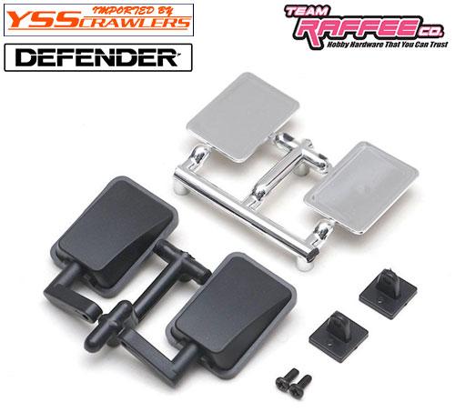 YSS TRC バックミラーセット for TRC ディフェンダー D90 D110 ボディー!