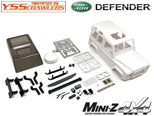 YSS TRC ディフェンダー D90 プラスチックボディー for Mini-Z 4x4!