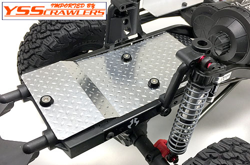 YSS Under Panel set V1 for Axial SCX10-II![Silver]