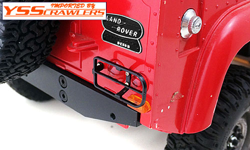 YSS Metal Rear Light Guards for Defender