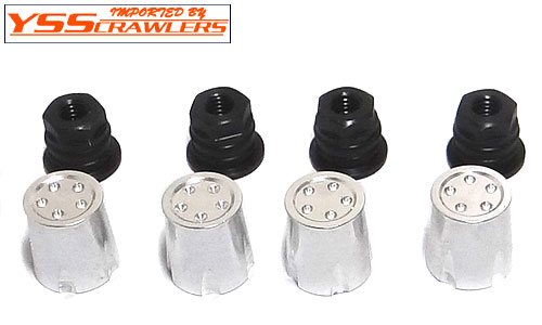 YSS Capped Scale Nut Type B - 5mm [4pcs][Black]