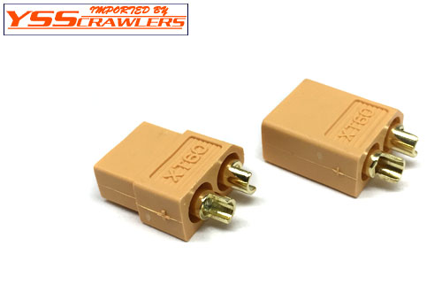 YSS XT60 connector! [1pair][Male-Female]