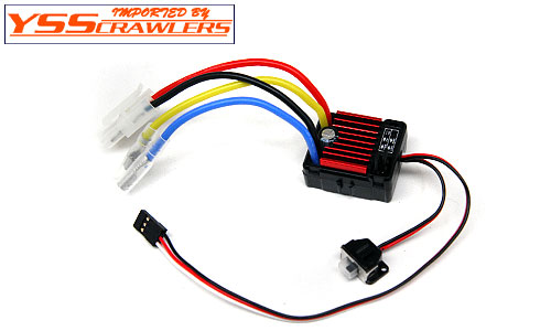 YSS Tritronic Water Proof  ESC for Crawler! [For Brushed]!