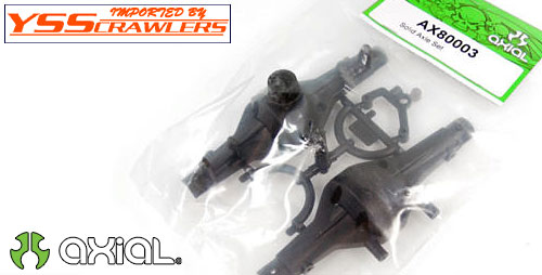 Axial Solid Axle Set