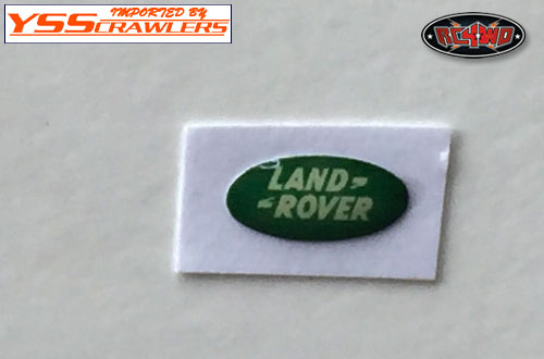 RC4WD Land Rover Emblem for Defender D90 Body! (Green)
