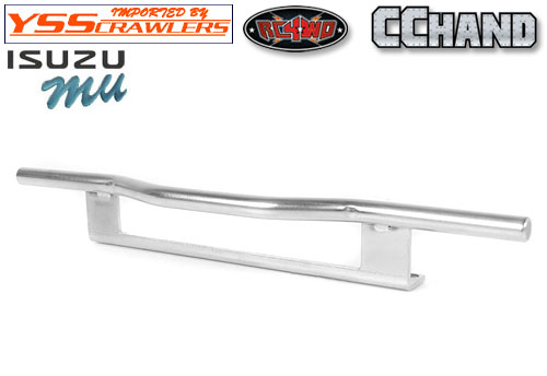 RC4WD KS Rear Bumper for Tamiya 1/10 Isuzu Mu Type X CC-01 (Silver)