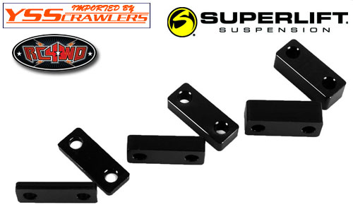 RC4WD Superlift Suspension Lift Block Set![3 size][Black]