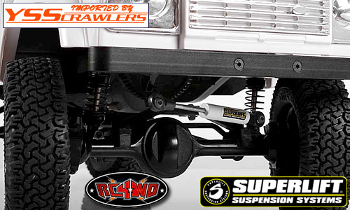RC4WD Superlift Adjustable Steering Stabilizer (65mm-90mm)