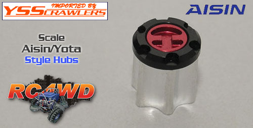 RC4WD Scale Aisin/Yota Style Hubs
