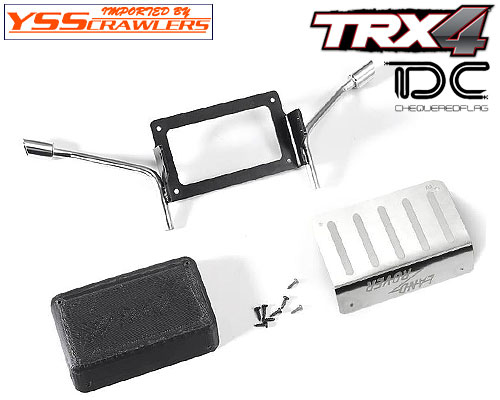 YSS TDC Metal Fuel And Exhaust Pipe for Traxxas TRX-4![D110]